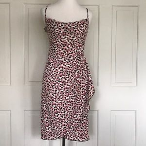 BCBG Paris Pink Multi Cocktail Dress Sz S